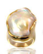 14kt Ikecho Pearl Ring