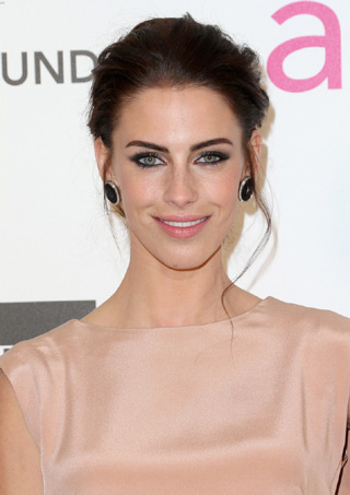 Jessica lowndes at the Vanity Fair Oscars party