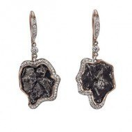 14kt-red-gold-earrings-with-Sikote-Meoteorite-and-Diamonds-300 copy