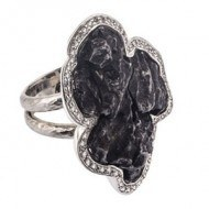 14kt-white-ring-with-Sikote-Alin-Meteorite-and-White-Sapphires-300 copy
