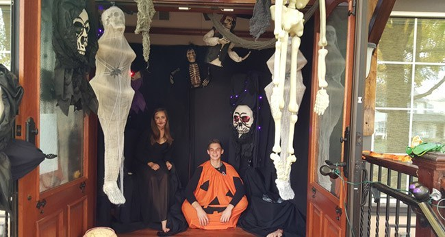 halloween hosted by adeler jewelers in great falls, va