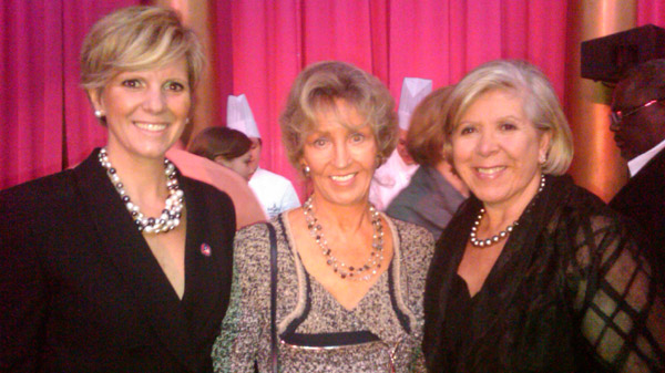 Wendy Adeler and friends at the Charity in Chocolate gala in DC