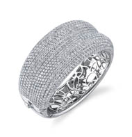 18kt Diamond Bangle Bracelet