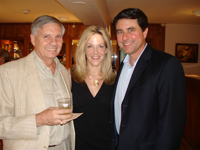 Pictured: (Jorge Adeler, Paige Bishop, and Mike Caggiano at Adeler Jewelers)