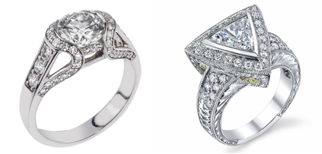 custom engagement rings the new trend