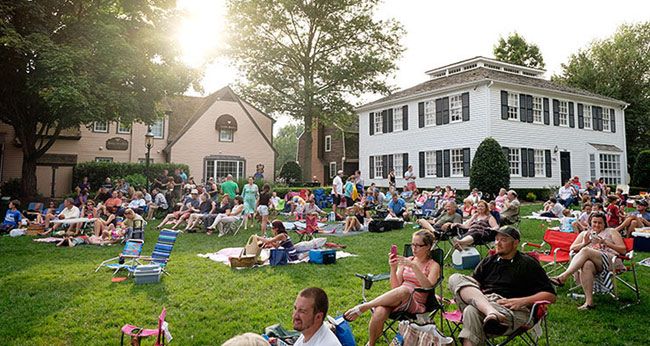 summer concerts on the green in great falls, va