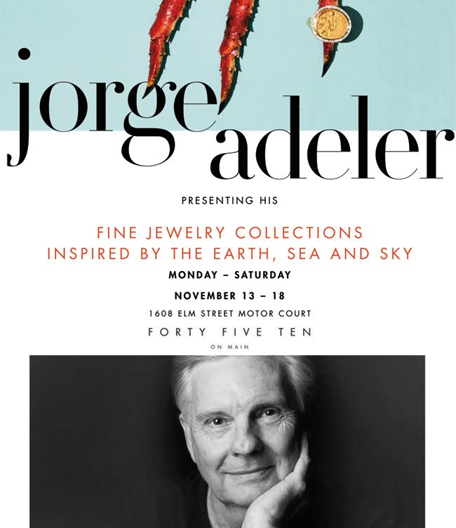 Jorge Adeler jewelry at Forty Five Ten in Dallas