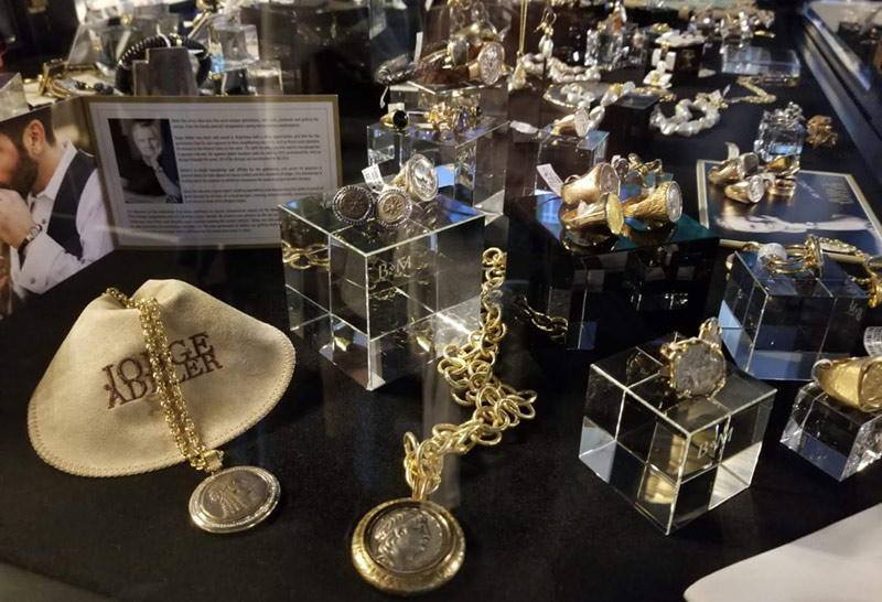 jorge adeler jewelry trunk show at Becker Minty