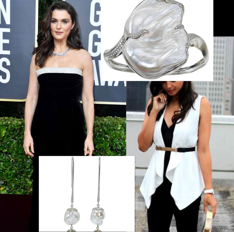 This outfit with some beautiful pearl accessories would be perfect for Valentine's Day